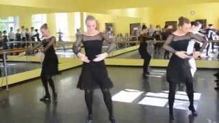 Народный танец. Контрольный урок.гр.207
