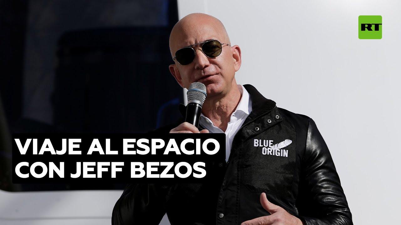 Subastan un 'billete' para volar al espacio con Jeff Bezos por 28 millones de dólares