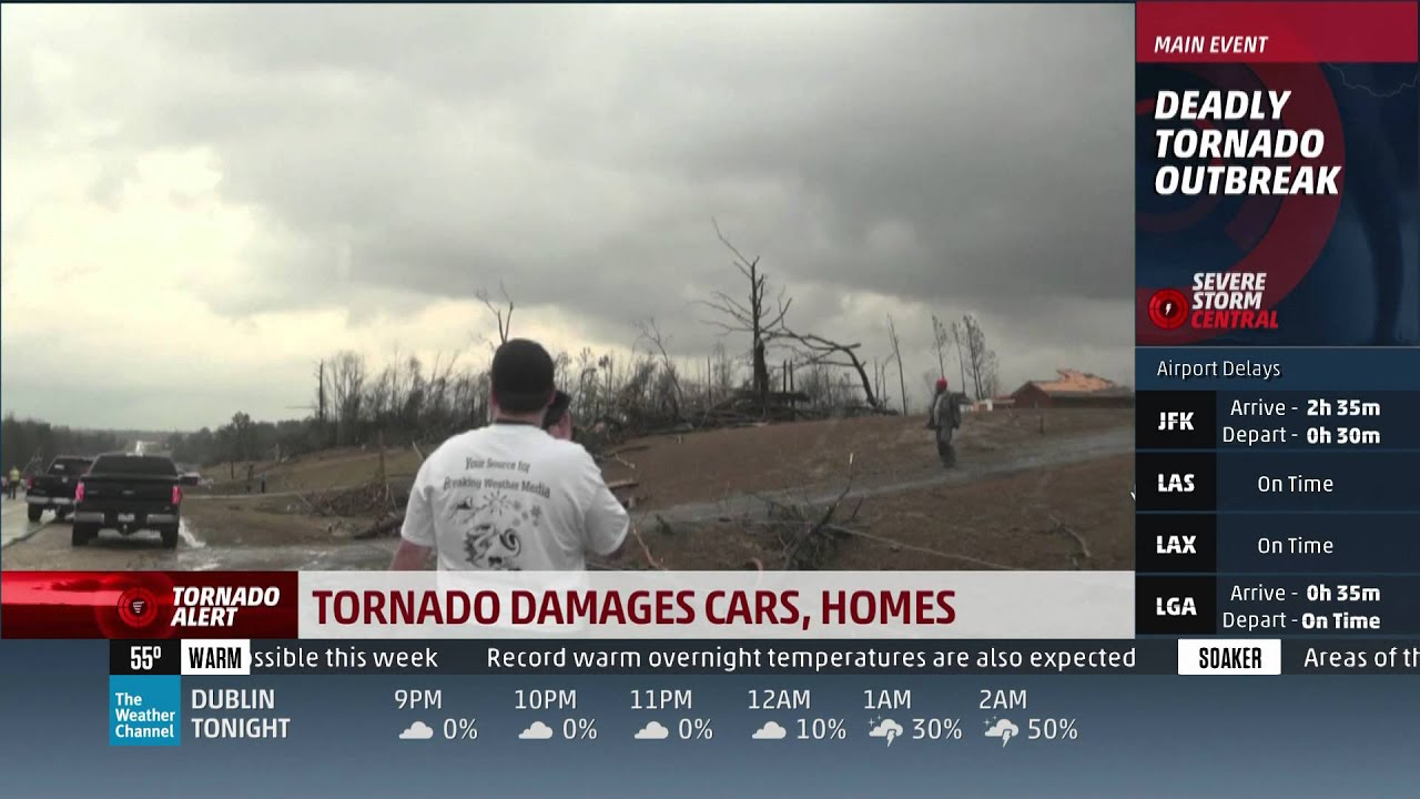 december 23  2015 tornado coverage  8pm-12am