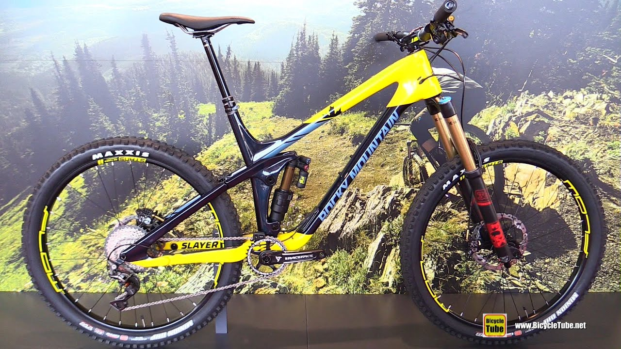 2017 Rocky Mountain Slayer 790 Msl Mountain Bike Walkaround