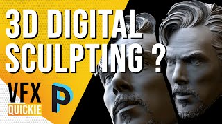 What is DIGITAL 3D SCULPTING ? Explained In-Depth  - VFX QUICKIE [HINDI]