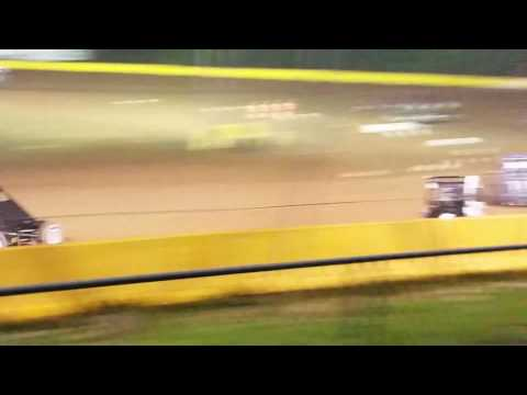 Ryan Quackenbush Hamlin speedway feature  6.16.17