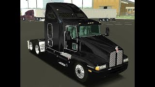 18 wos haulin + Kenworth t600  + luces azules By cerritos  + Utility 45¨ By Pedalero
