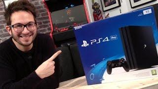 PS4 Pro vs PS4 Standard : Notre Unboxing de la nouvelle console de Sony