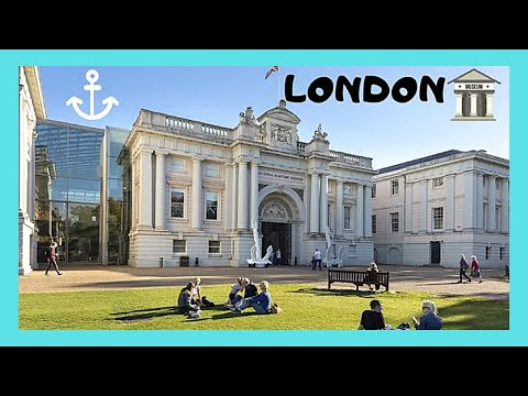 The National Maritime Museum,  a tour, Greenwich (London)
