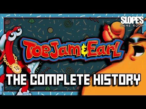 Toejam & Earl: The Complete History - SGR