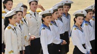 Северная Корея. Военный парад. Пхеньян 2017