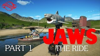 Planet Coaster - Jaws: The Ride