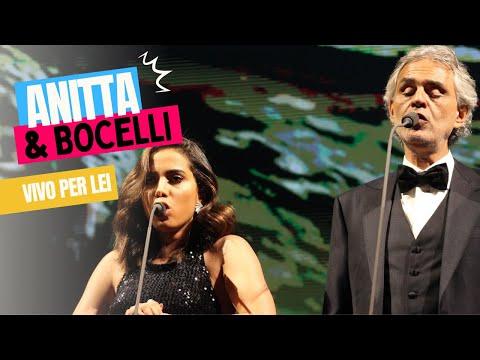 Vivo per lei - Andrea Bocelli e Anitta