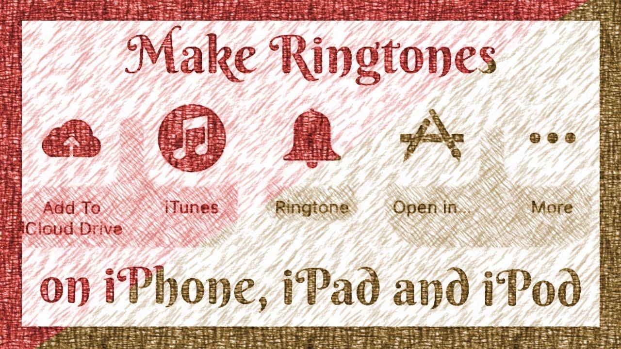 Create Ringtones Using Garageband App Easy Method 2017 Youtube
