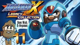 Mega Man Legacy Collection Volume 1 X Challenge | Let's Play Ep. 11 | Super Beard Bros.