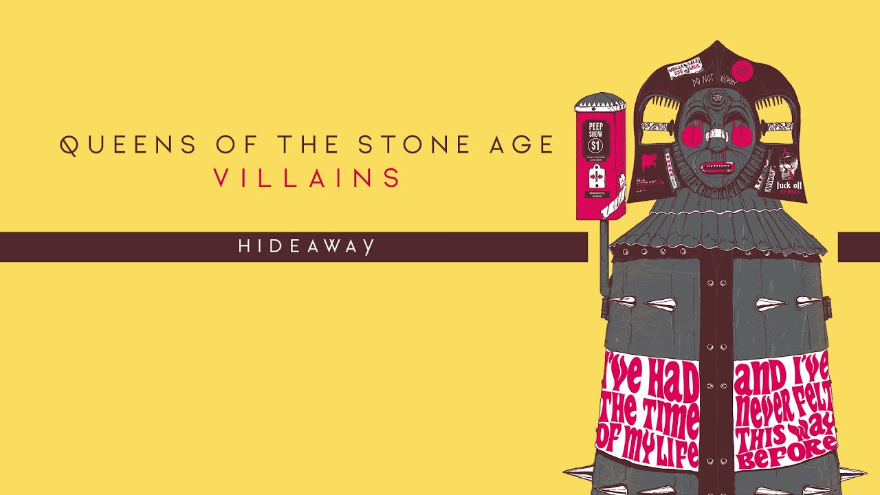 Queens Of The Stone Age Hideaway Audio Youtube
