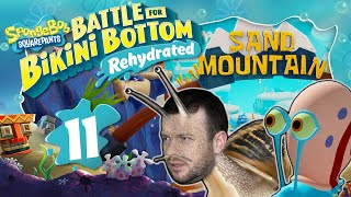 Sand-Ski fahren auf dem SAND MOUNTAIN🧽 SPONGEBOB: BATTLE FOR BIKINI BOTTOM REHYDRATED #11