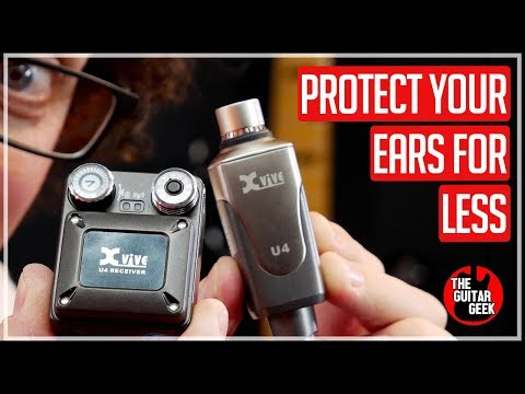 Affordable Wireless In-Ear Monitoring System - U4 From Xvive