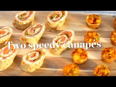 Two Speedy Canapé Recipes Ready In 30 Minutes