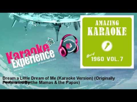 Amazing Karaoke - Dream a Little Dream of Me (Karaoke Version)