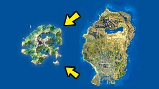 gta 5 моды: найден новый секретный остров... что там находится ??