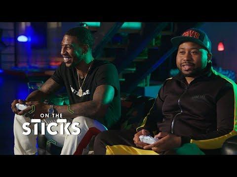 DJ Akademiks takes on Iman Shumpert in 'Forza Horizon 4' | On the Sticks