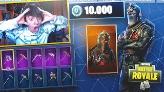 I GET THE SKIN MORE FACE AND EXCLUSIVE OF FORTNITE!! (+10000 PAVOS) - Agustin51