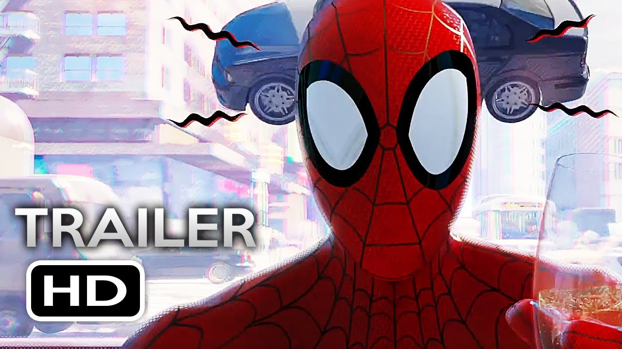 5b9045d3e05c SPIDER-MAN  INTO THE SPIDER-VERSE Official Trailer 3 (2018) Marvel Animated  Superhero Movie HD