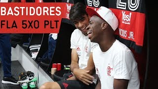Bastidores   Flamengo 5x0 Palestino