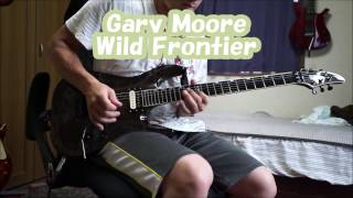 Gary Moore Wild Frontier 12''cover