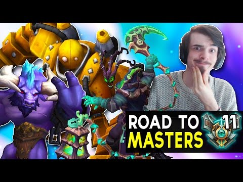 SUPPORT IS SO EASY - Road to Masters #11 - League of Legends