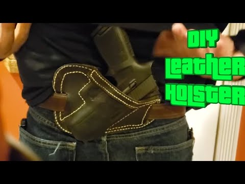 DIY Leather Holster | So I Made A Leather Sob Owb Holster