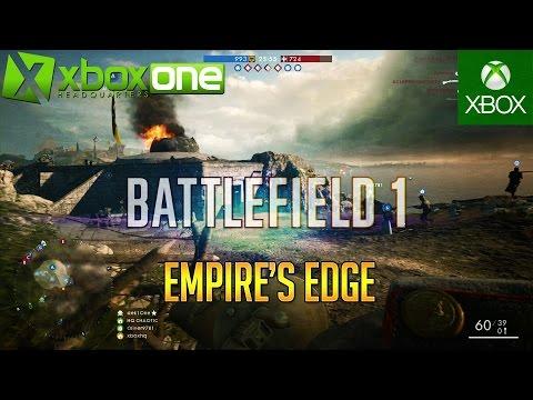 "BATTLEFIELD 1 ""Empire's Edge"" Map Multiplayer Gameplay"