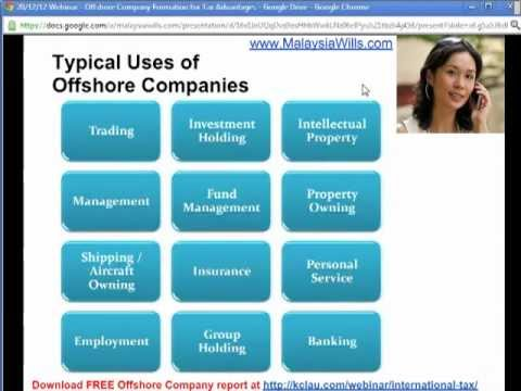 How to Use Offshore Company Formation to Benefit Intellectual Property Type of Business