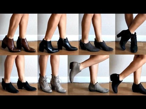 FALL 2015 BOOTIES COLLECTION || theStyleHungry