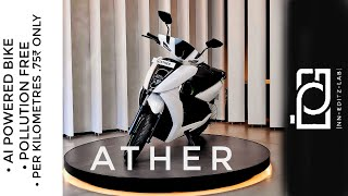 ATHER450 AI ELECTRIC SCOOTER | nn_editz_lab | price /emi /seconds owner and all details | FAQ  |