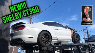 Rebuilding a wrecked 2018 Shelby GT350 Ford Mustang, Salvage, Part 1