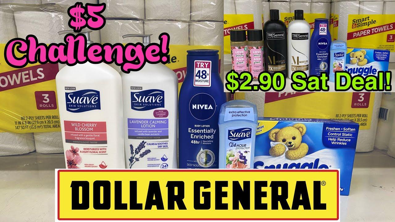 Dollar General $5 Challenge / $2.90 Saturday Scenario!