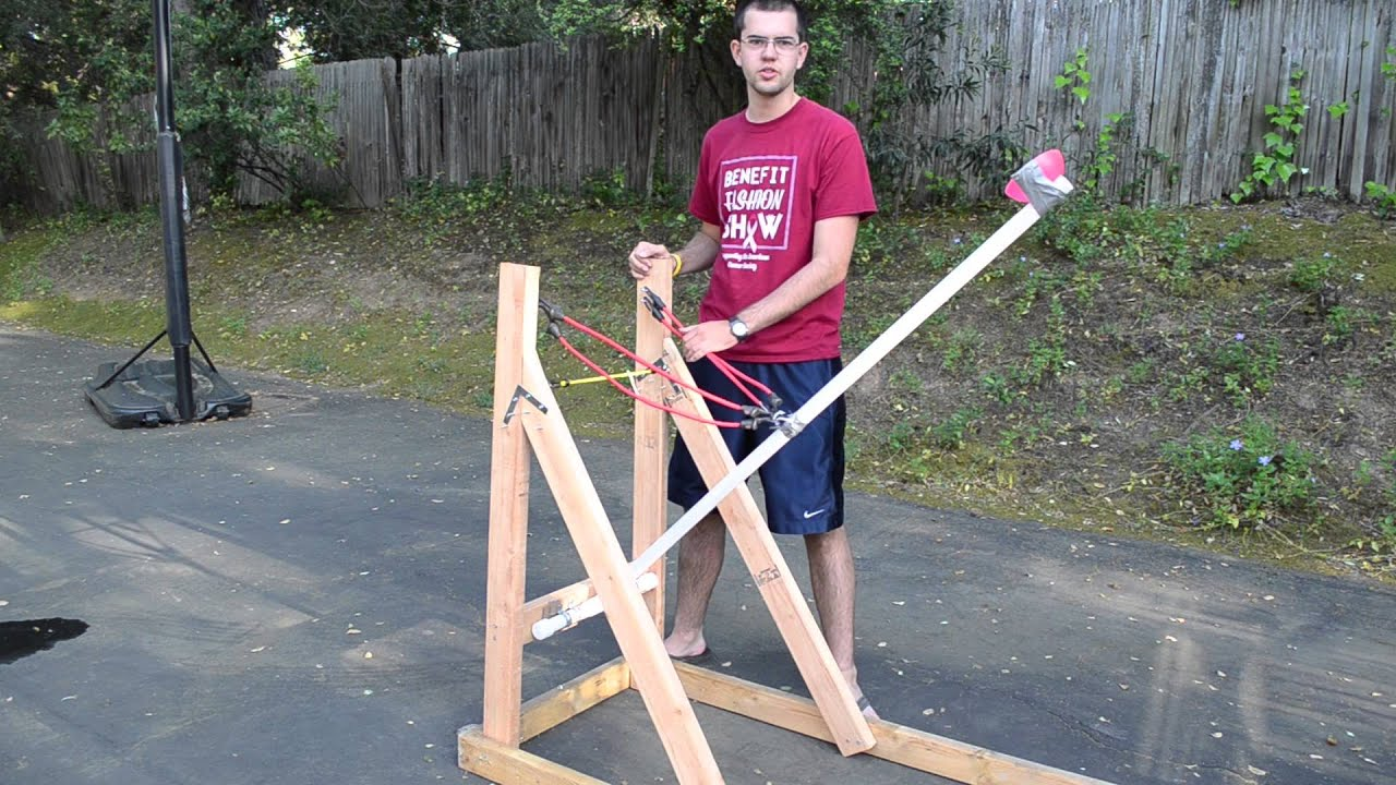 bungee cord catapult dbs 13 youtube