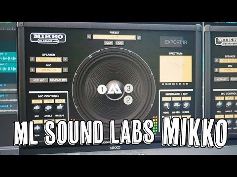 Create Your Own Impulses! ML Sound Lab MIKKO!