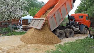 Доставка песка клиенту(, 2016-05-27T09:40:11.000Z)