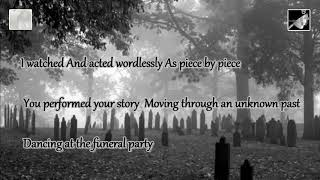 the funeral party with lyrics