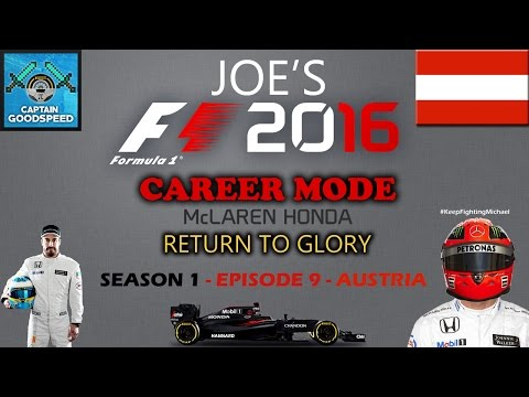 F1 2016 (PS4 Gameplay) – Career Mode – Season 1 (McLaren) - Episode 9: Risky Strategy Call!