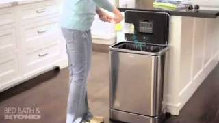 simplehuman Brushed Stainless 40-Liter Sensor Can at Bed Bath & Beyond