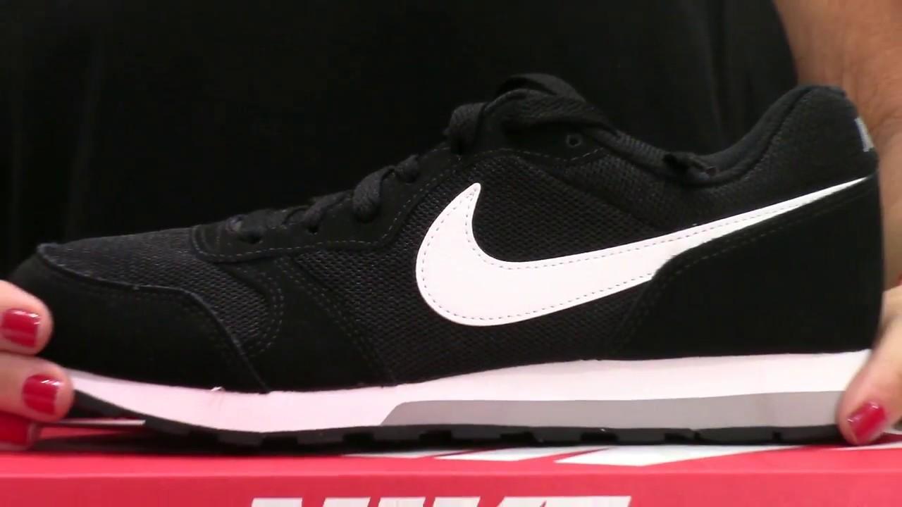 NIKE: Nike MD RUNNER 2: Nuevas Zapatillas Mujer Negras 2018-2019