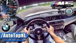 800HP BMW M5 F10 AUTOBAHN POV 307km/h!! BIMMER TUNING BTM5 by AutoTopNL