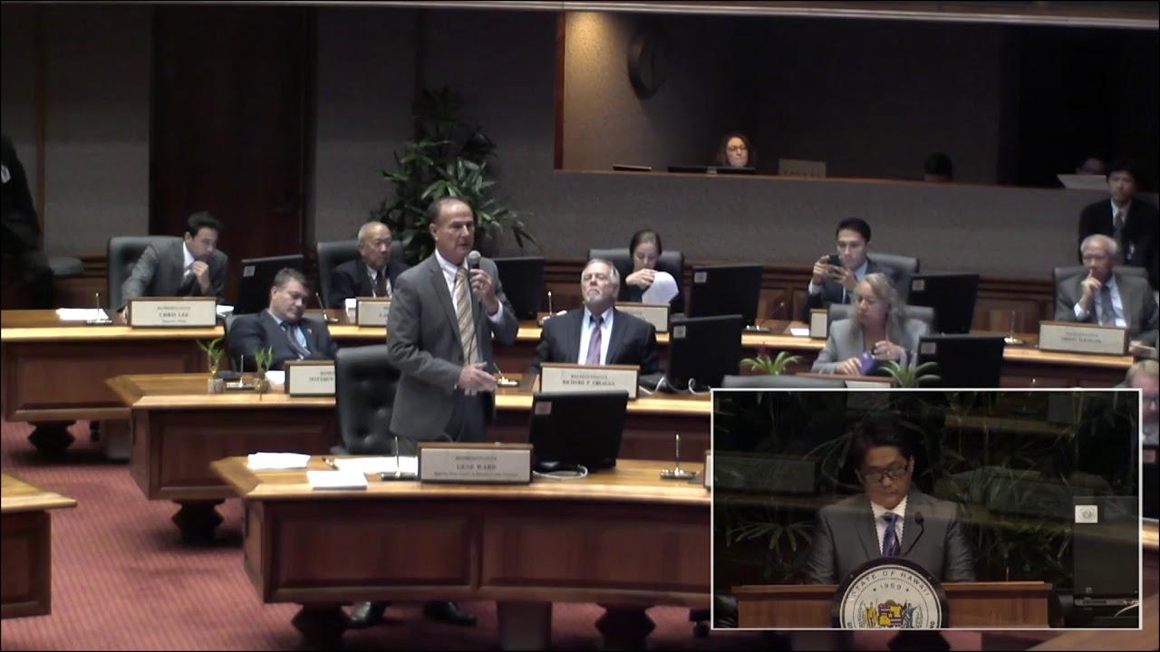 Rep. Ward Speaks Against Sanctuary State