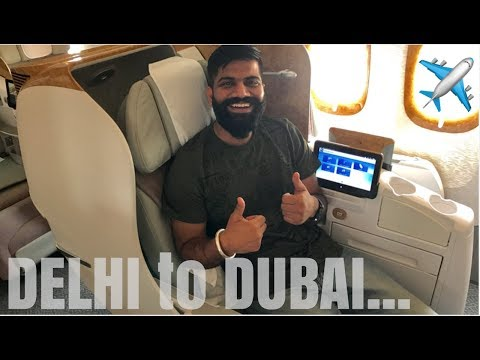 DELHI to DUBAI - The Journey...✈️😎👍