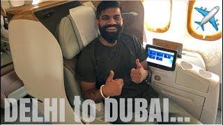 DELHI to DUBAI - The Journey...✈️😎👍