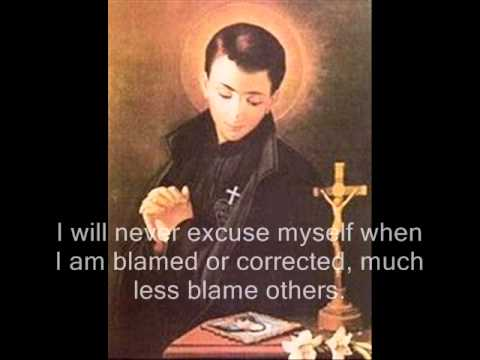 Saint Gabriel of Our Lady of Sorrows (His Resolutions)