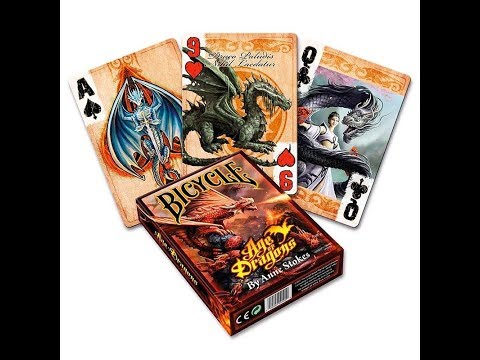 Bicycle Age Of Dragons Deck Review