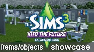 The Sims 3 Into The Future - Items/objects showcase