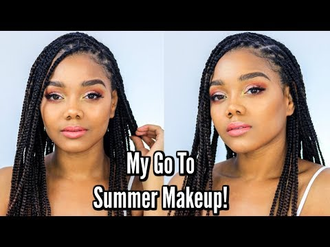 My Go To Makeup Look For Summer Events! thumbnail
