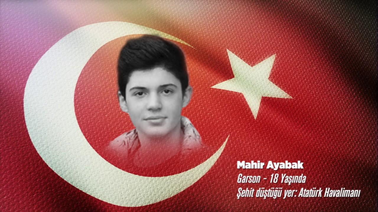 15 Temmuz Şehidi Mahir Ayabak